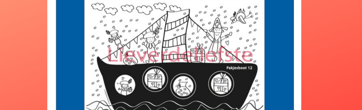 Sinterklaas printables van Lieverdeliefste