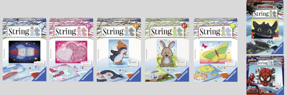 Speelgoed: String it van Ravensburger